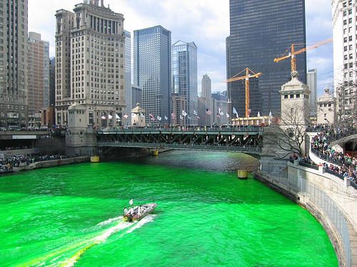 St Patrick Green River