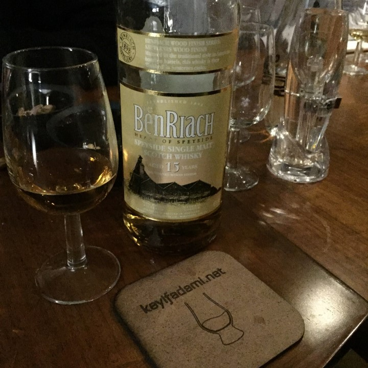 Benriach 15 Sauternes Wood Finish
