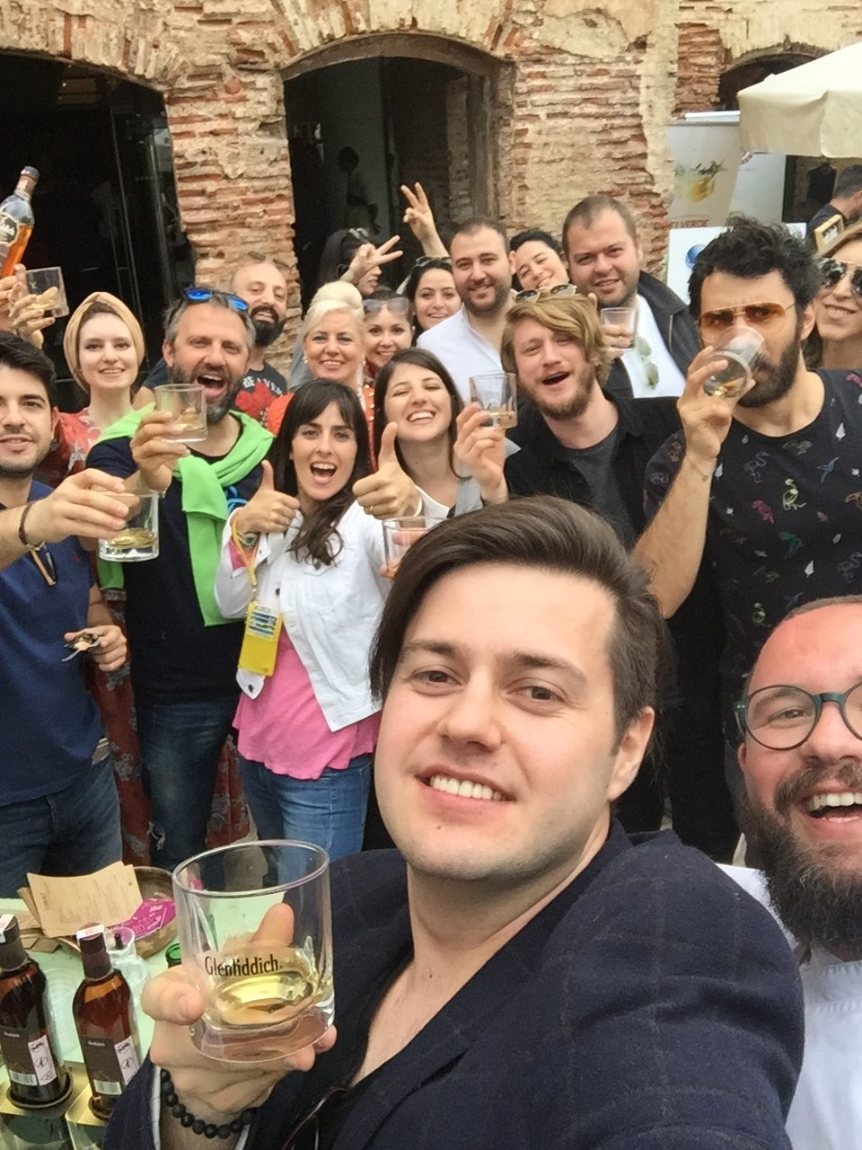 Glenfiddic 15 Selfie