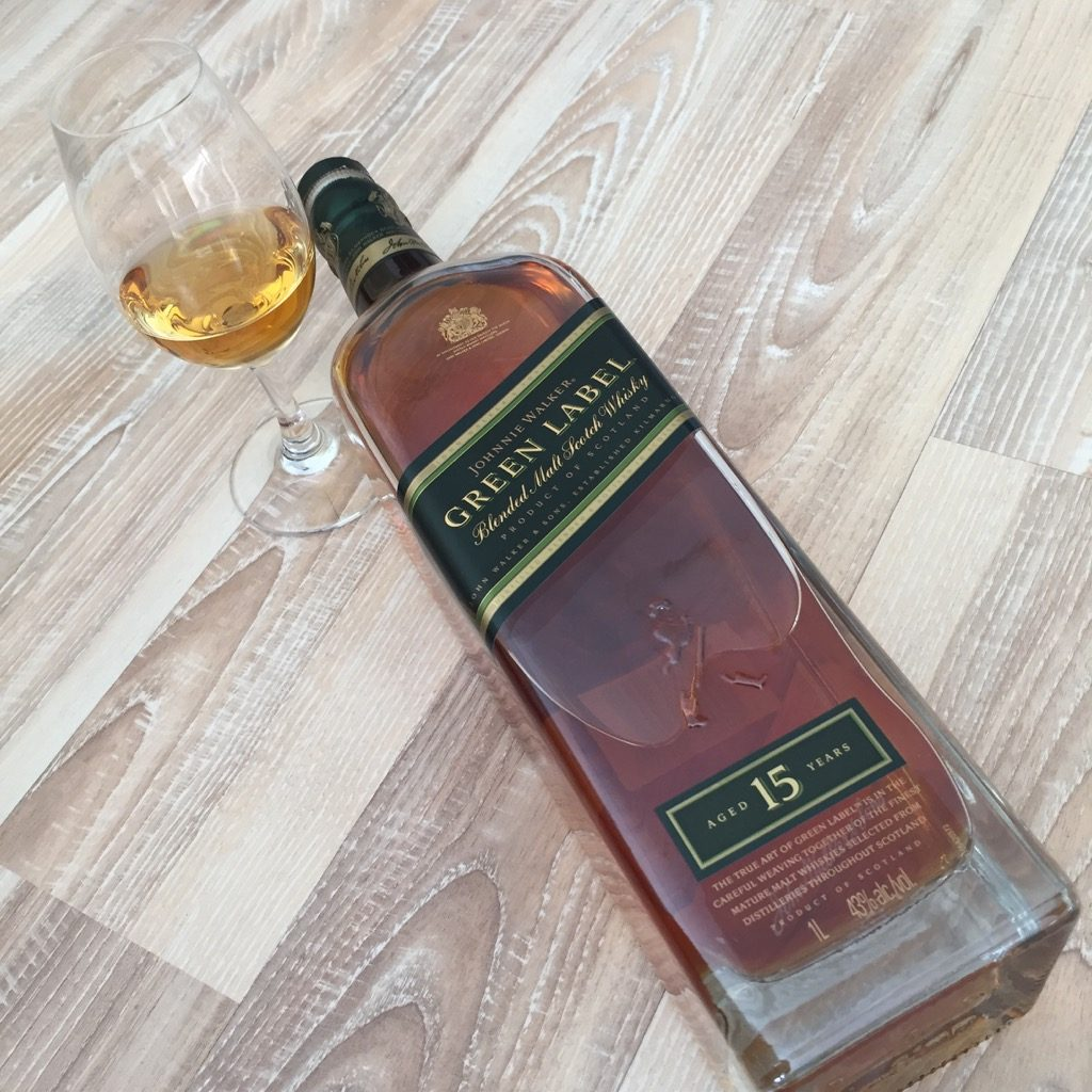 Johnnie Walker Green Label Tasting Notes