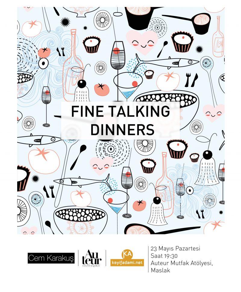 Fine Talking Dinners