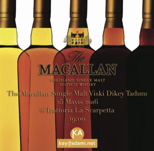 The Macallan Tadımı