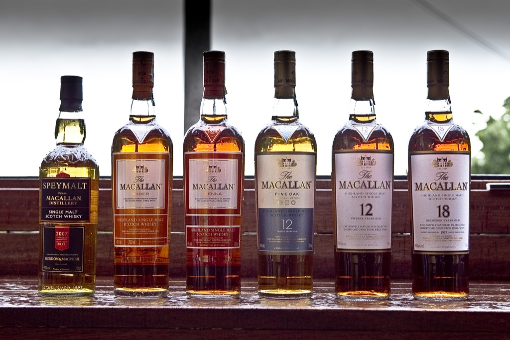 Macallan Line Up