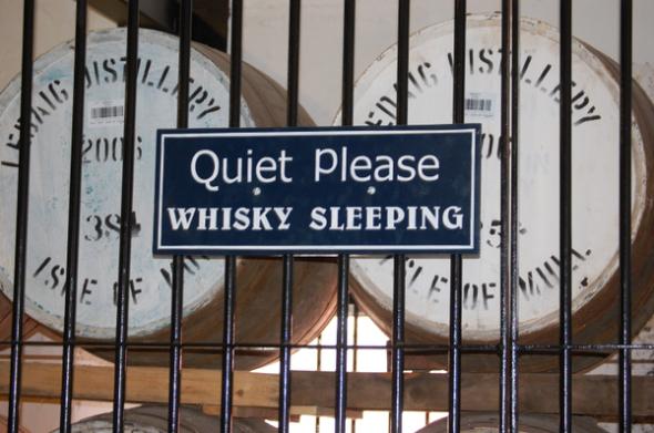 whisky silence
