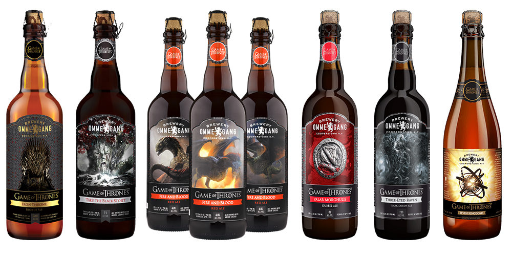 Game Of Thrones Ommegang Beers