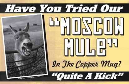 Have You Tried Moscow Mule