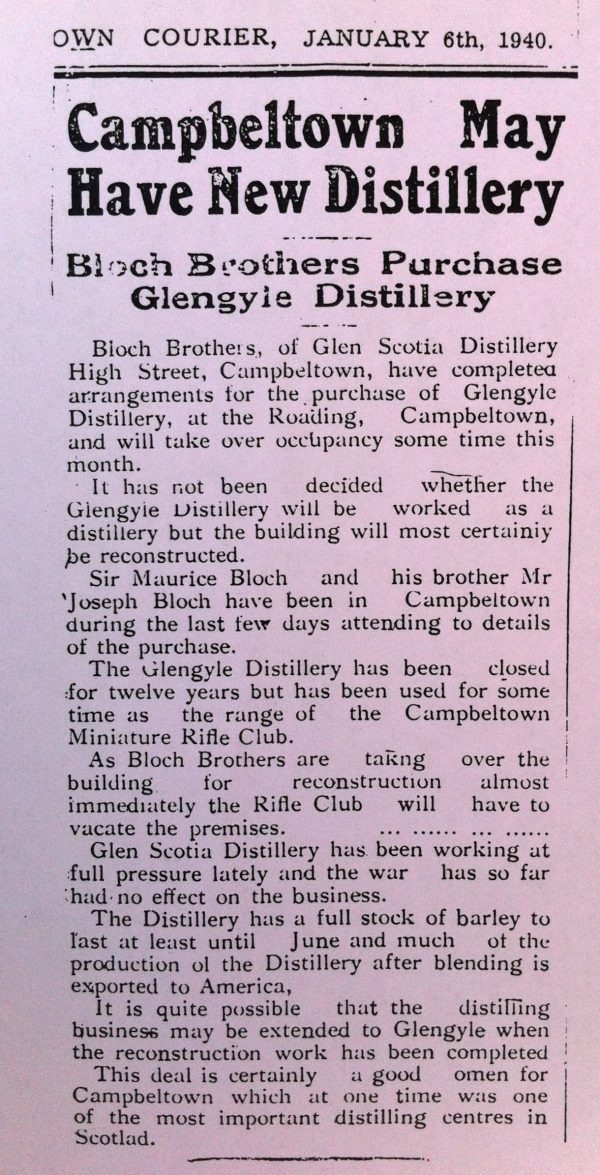 Campbletown Courier Glengyle