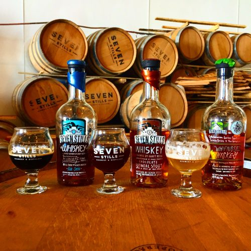 Seven Stills Whiskeys