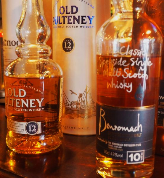 Old Pulteney 12 & Benromach 10