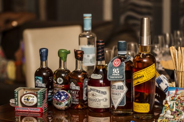Amerikan Viskileri Line Up