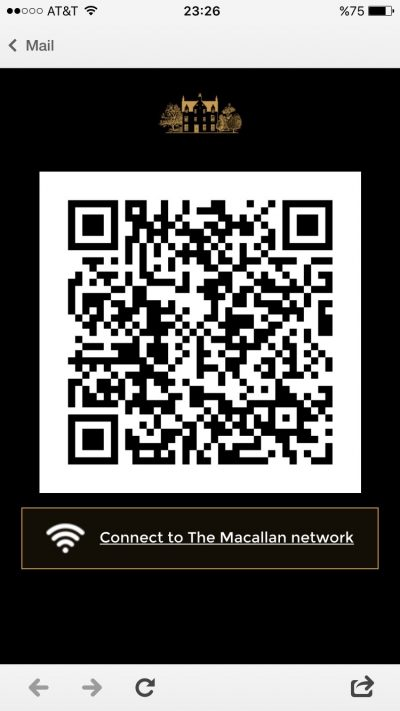 Raise The Macallan QR Code