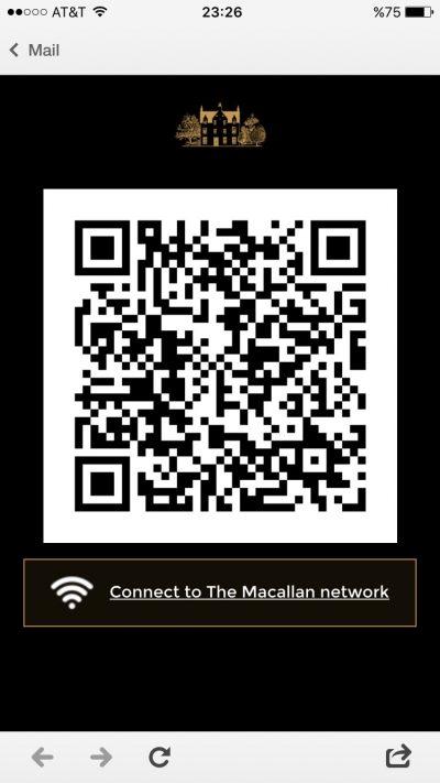 Raise The Macallan QR Code